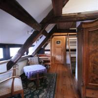 Wohnbereich 1 im Dachraum