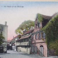Gerberhaus etwa um 1900